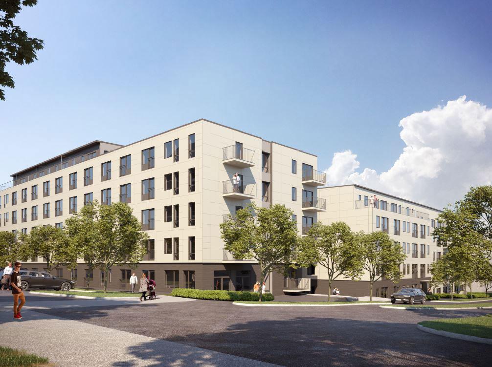 Flatås Alléer - Fasad hus 1 och 3