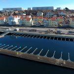 Norra Hamnen - Flygfoto