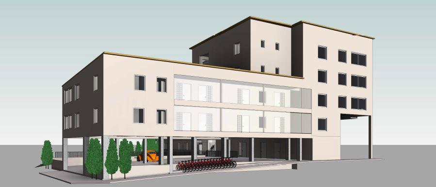 Kv Altanen - Fasad